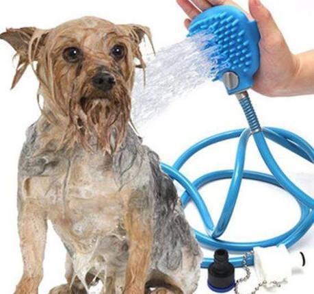 Перчатка для мойки животных Pet washer 182406, фото 2