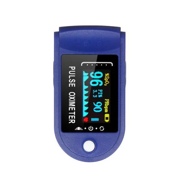 Пульсоксиметр на Палец Pulse Oximeter Lk 88 с Поворотным OLED-Дисплеем