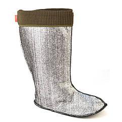 Вставки утеплитель в мужские резиновые сапоги фольгированные Jose Amorales 419001 42 р joa4190011, КОД: