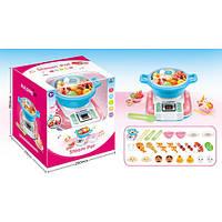 Посуд CY-7036B каструля, плита, таймер, продукти, муз. (англ.), бат., кор., 28,5-25-24 см.
