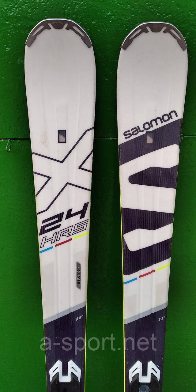 Гірські лижі бу Salomon hrs 24 max ti 154 см експертний карвінг 2017p