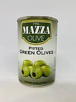 Оливки Mazza без косточки, 397/170 грамм, фото 1
