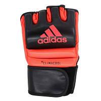 Перчатки тренировочные MMA Speed Figh. Цвет черно-красный р. M, L (ADISCSG042)