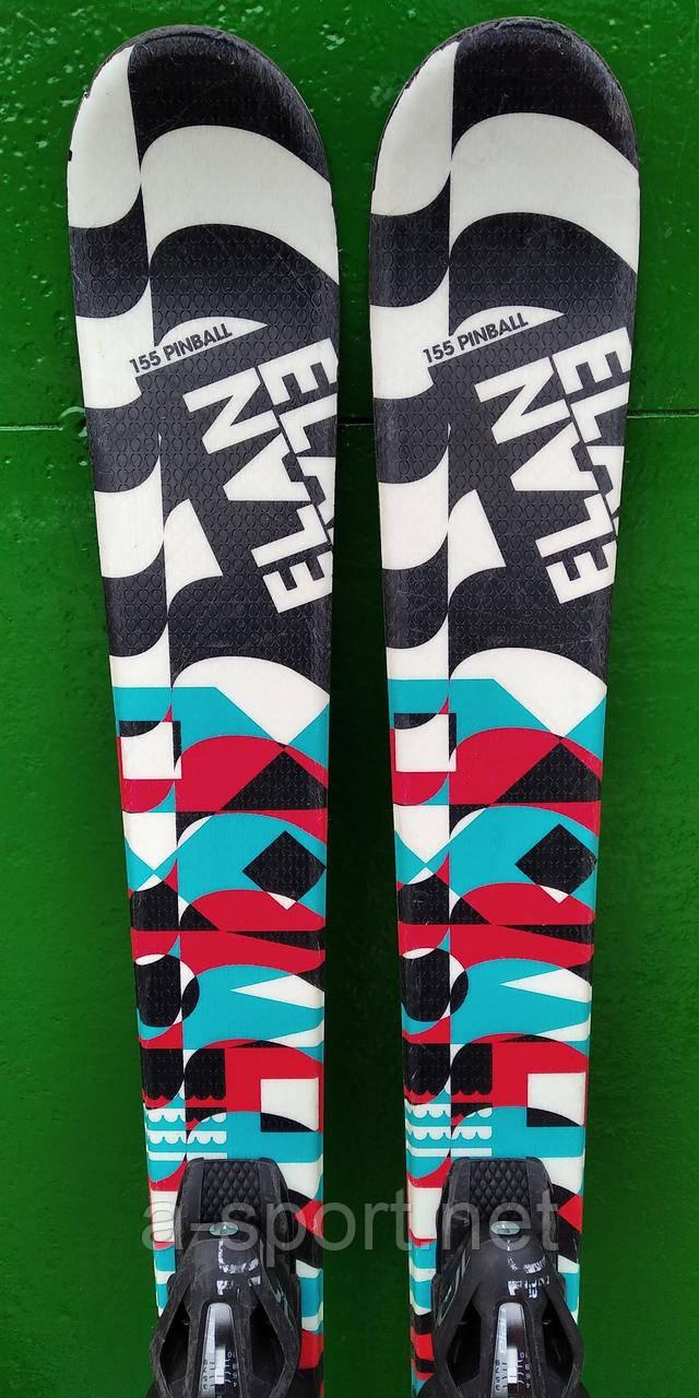 Гірські лижі бу  Elan Pinball Pro QT 155 см, твін-тіп