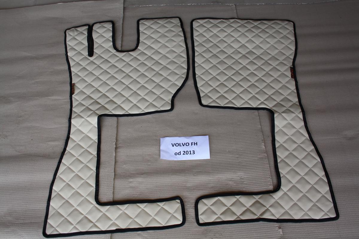 Коврики Volvo 2013+ бежевые из 3-х частей