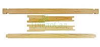 Рамка для ульев Рута (435х230) высшего сорта (еврозамок вверху и внизу) (ель, сосна) )