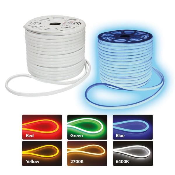 """Стрічка світлодіодна LED """"NEOLED"""" вологозахищена синя відвантаження кратно 100 метрів"""