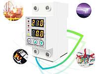 Реле контроля напряжения и тока Tovpd 220В 60А