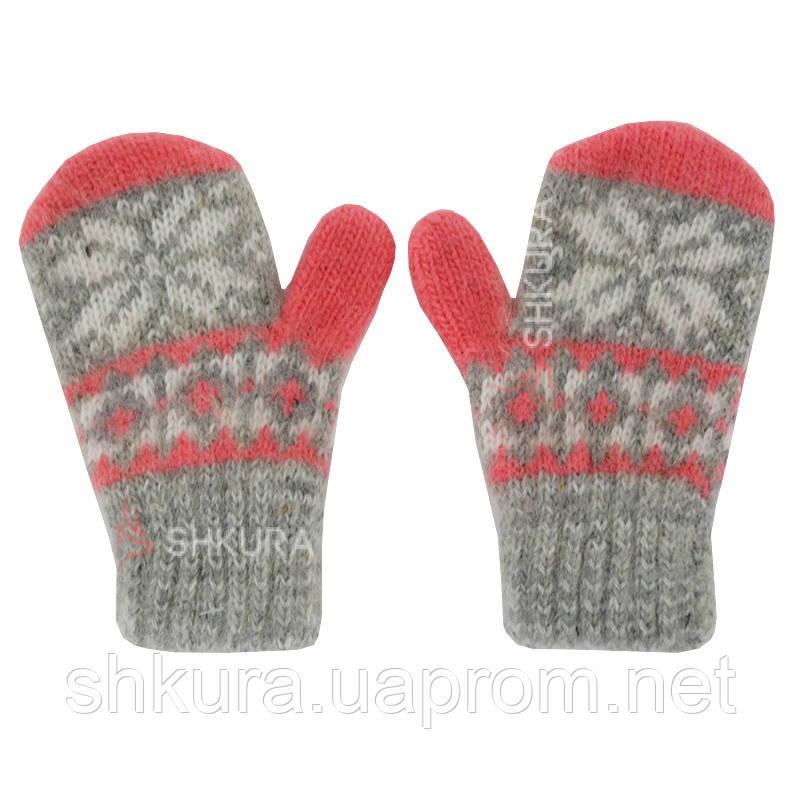Дитячі рукавиці, 1-4 роки. 02