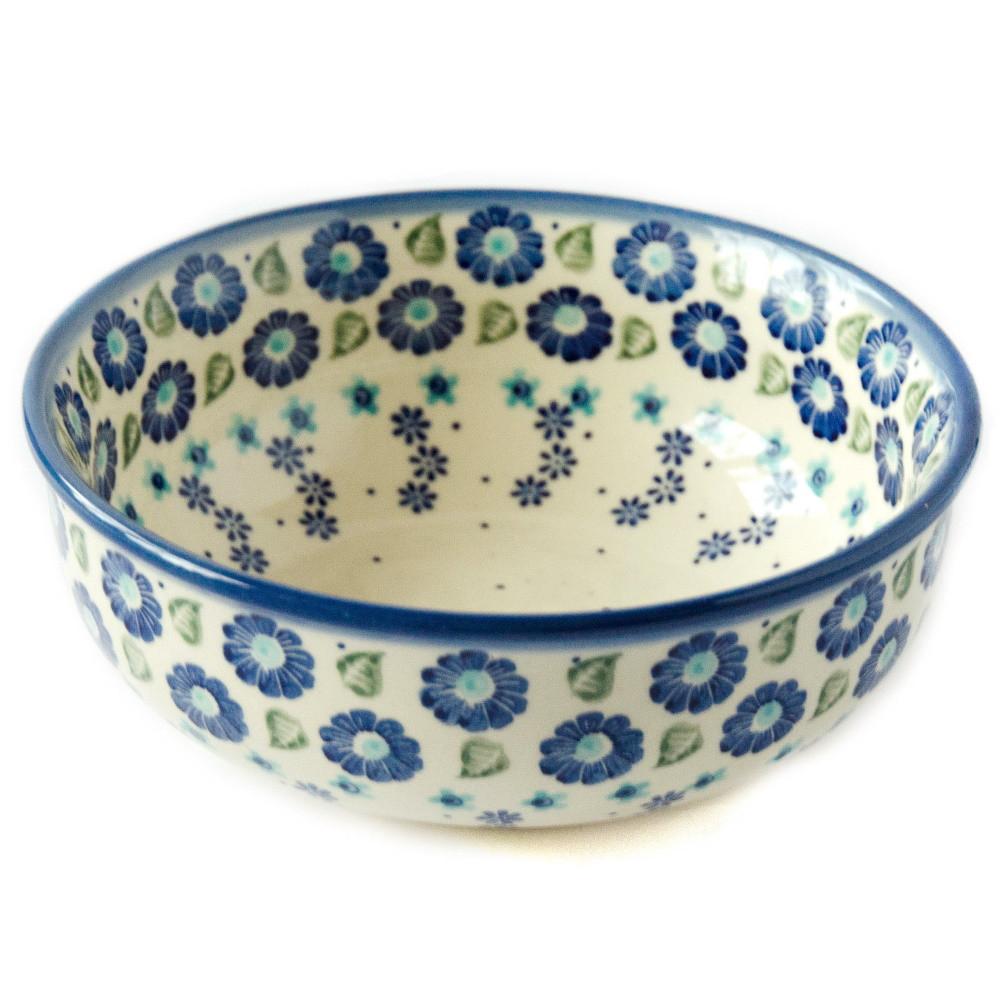Керамическая пиала для супа, салатник 17 Blue Wind