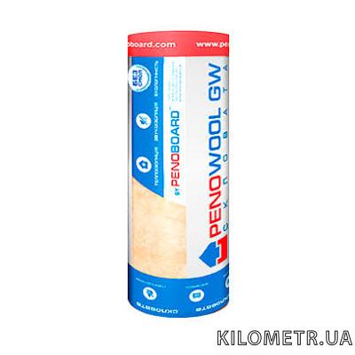 Утеплювач скловата Penowool GW 100мм (10,8м2 .,1200*9000)