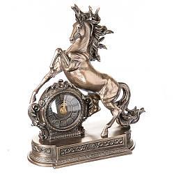 Годинники настільні Veronese Кінь Скакун 32 см 76235