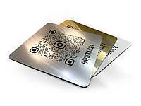 Инстаграм визитка вывеска 200х200мм из двухслойного пластика (Цвет: Белый/черный;  Крепление: Без крепежа;)