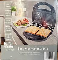 Бутербродница, вафельница, сендвичница Silver Crest 3в1 750W