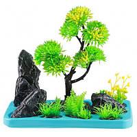 Искусственное растение для аквариума SunSun FZ 106