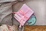 Детское сменное постельное белье в кроватку с простынкой на резинке, 3 предмета, разные расцветки, фото 5