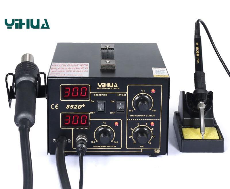 YIHUA-852D+ ремонтна станція з компресором
