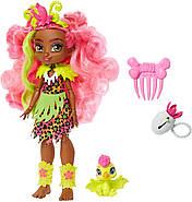 Лялька Фернесса і Птилли птеродактиль Печерний клуб 25 см Cave Club Fernessa Doll Mattel, фото 3