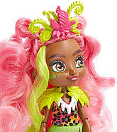 Лялька Фернесса і Птилли птеродактиль Печерний клуб 25 см Cave Club Fernessa Doll Mattel, фото 9