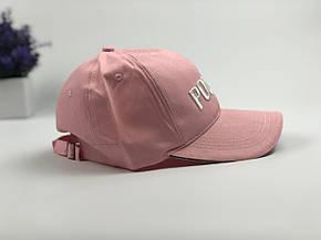 Кепка Бейсболка Мужская Женская Vetements с надписью Polizei Розовая, фото 2