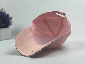 Кепка Бейсболка Мужская Женская Vetements с надписью Securite Розовая, фото 3