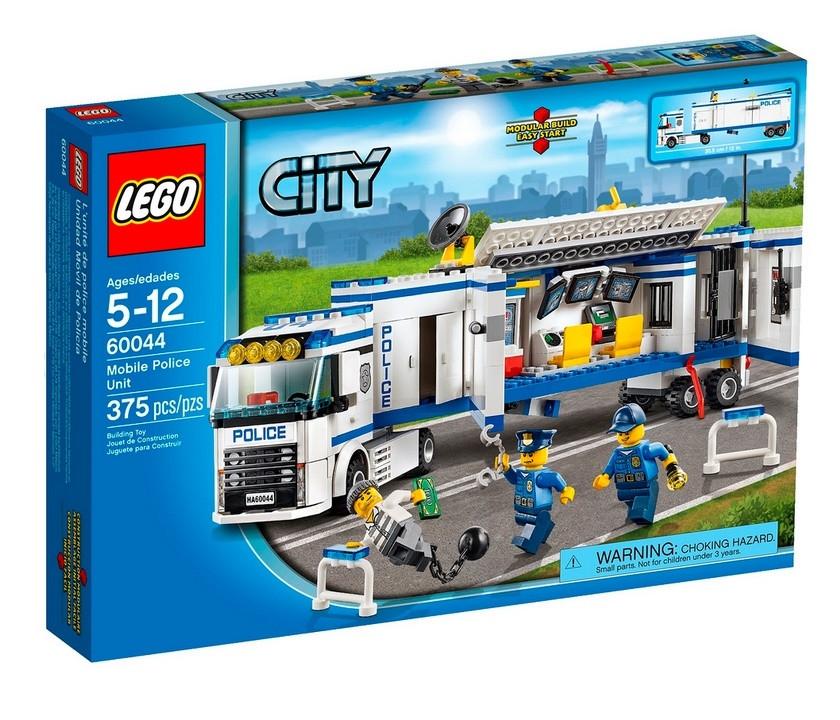 Lego City Виїзної загін поліції 60044