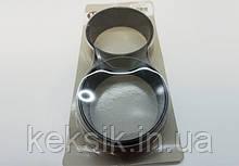 Форма кольцо тефлон 2шт 9 см