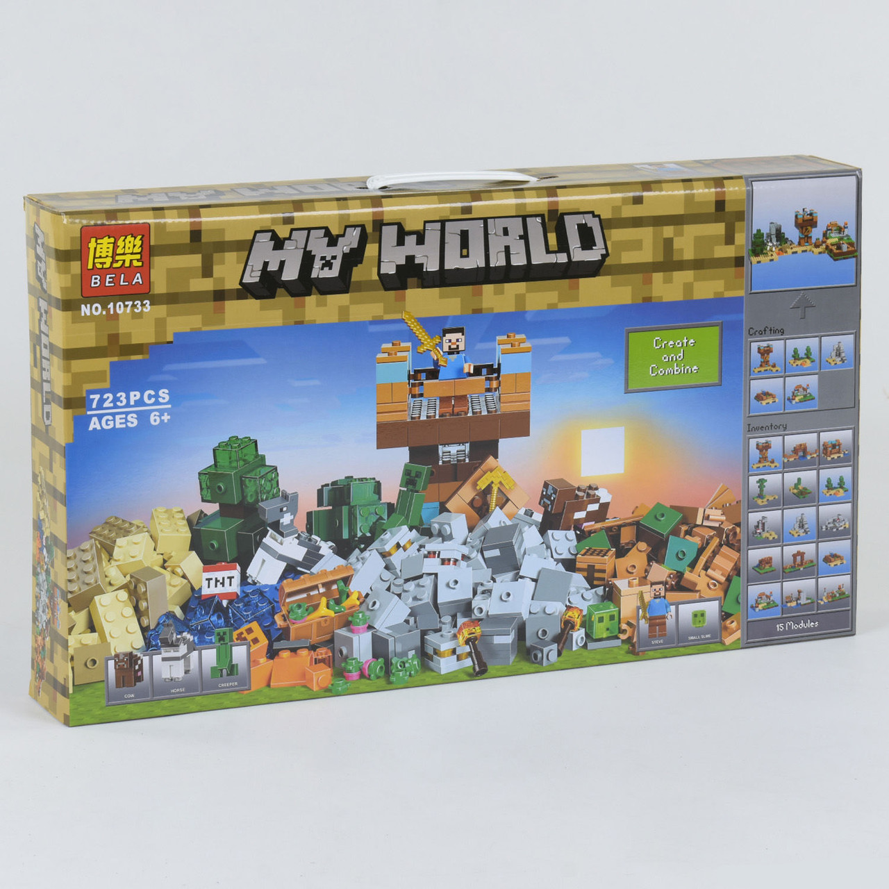 Конструктор Bela My World 10733 Minecraft