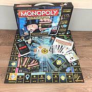 Настольная игра Монополия БАНК БЕЗ ГРАНИЦ с банковской картой кассовым аппаратом терминалом экономическая