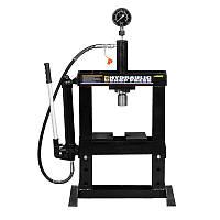 Пресс гидравлический с манометром 10т SIGMA (6206011)