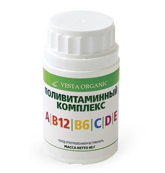 ПОЛІВІТАМІННИЙ КОМПЛЕКС, 40 Г