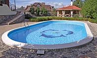 Бассейн из стекловолокна Ницца 6,40х3,40м глубиной 1,5м
