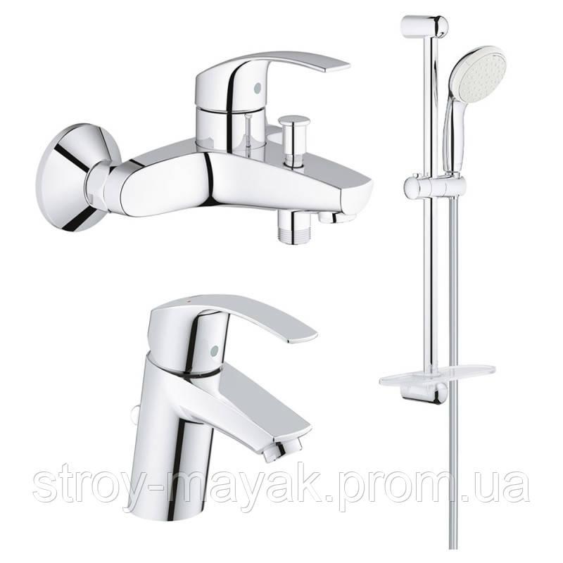 Набор смесителей для ванной Grohe Eurosmart S-Size 123238S