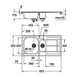 Кухонная мойка Grohe Sink K300 31564SD0, фото 2
