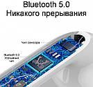 Беспроводные сенсорные Bluetooth наушники i12-TWS Белые TyT, фото 7