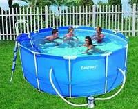 Каркасный круглый бассейн 56088-new, BestWay, (366х122см.)