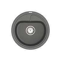 Кухонна мийка VANKOR Polo PMR 01.44 Gray + сифон VANKOR