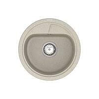 Кухонна мийка VANKOR Polo PMR 01.44 Terra + сифон VANKOR