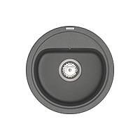 Кухонна мийка VANKOR Lira LMR 01.44 Gray + сифон VANKOR