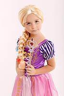 Платье Рапунцель для девочки 3-8 лет