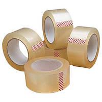 Скотч упаковочный прозрачный 25м 45мм 6шт/упаковка для упаковки ящиков и любой другой продукции