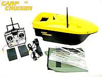 Карповый кораблик CarpCruiser boat-YF7-L с эхолотом Lucky FF718-Li-W для завоза прикормки приманки, рыбалки, фото 1