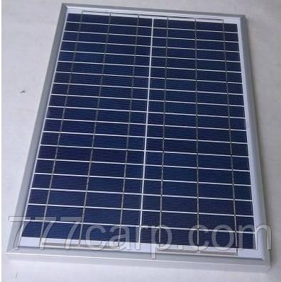 Батарея Солнечная 40W-12V, Солнечная панель, банк энергии, мини электростанция, продажа в Харькове, в Украине