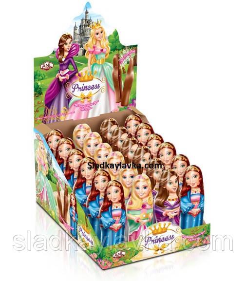 Шоколадная фигурка Princess 24 шт 38 г (ANL)