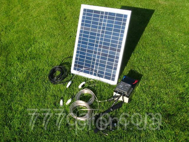 Мини Электростанция Походная на Солнечных батареях, банк солнечной энергии 12v для зарядки телефона, планшета