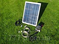 Мини Электростанция Походная на Солнечных батареях, банк солнечной энергии 12v для зарядки телефона, планшета, фото 1