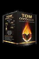 Вугілля кокосовий для кальяну Tom Cococha Gold 1кг