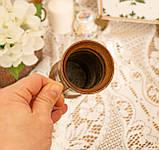 Старый медный кувшинчик, медная ваза, медный декор, Германия, 13 см, фото 5