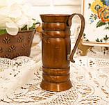 Старый медный кувшинчик, медная ваза, медный декор, Германия, 13 см, фото 6
