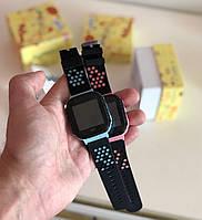 Детские наручные смарт-часы Smart Baby Watch A15 Голубой + Наушники